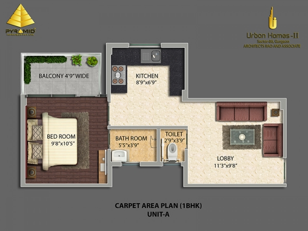 Pyramid Urban Homes 2 Sector 86 Gurgaon Affordable Housing