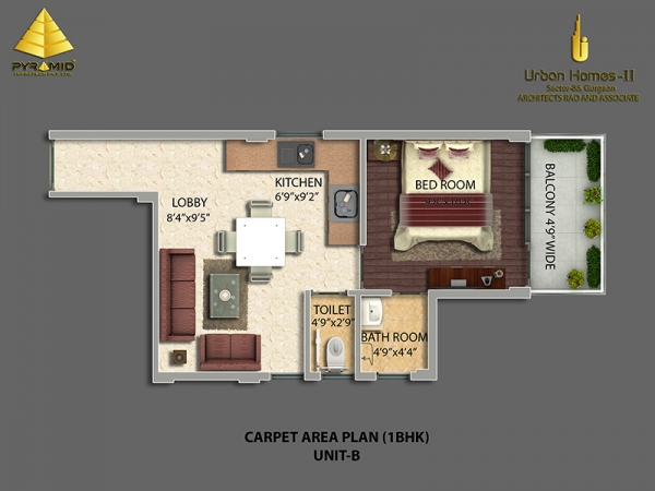 1bhk-34752-floor-plan-of-pyramid-urban-homes-2affordable-housing-project-sector-86