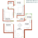 signature-global-andour-heights-sector-71-affordable-housing-project-gurgaon-floor-plan