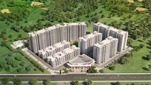 SIGNATURE GLOBAL GRAND IVA SECTOR 103 AFFORDABLE HOUSING PROJECT GURGAON SITE PLAN