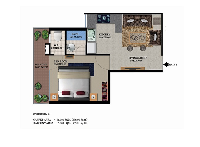 1bhk-33757-floor-plan-of-global-heights-sector-33-s0hna-affordable-housing