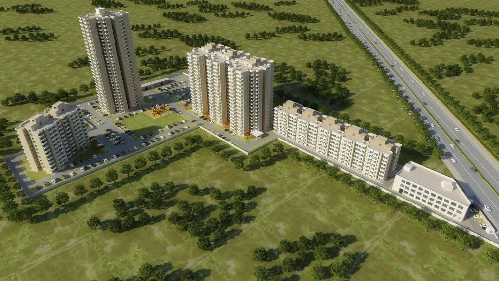 elevation-view-of-osb-expressway-towers-sector-109-dwarka-expressway-towers-gurgaon