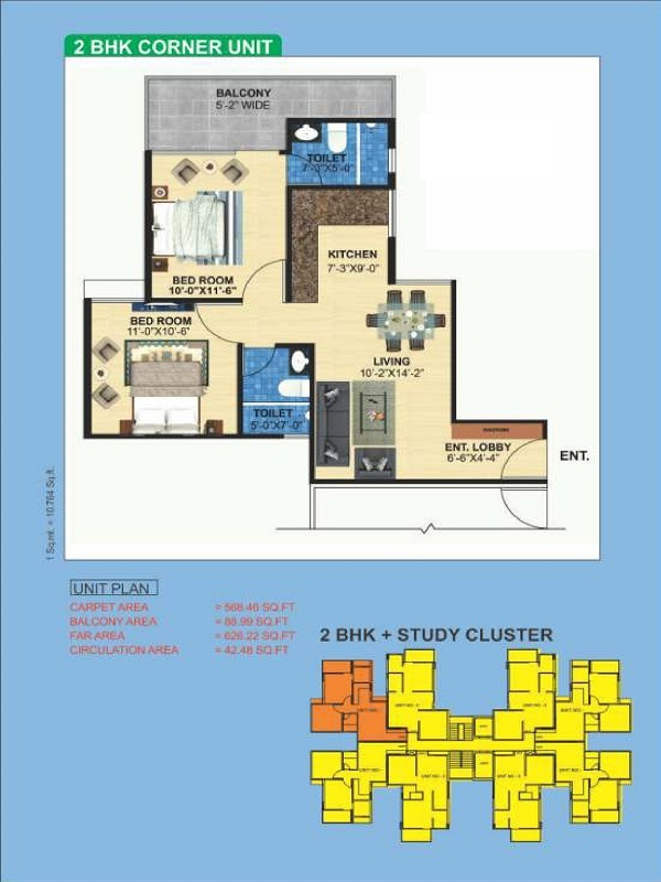 2bhk-56889-floor-plan-of-zara-aavaas-affordable-housing-project-gurgaon