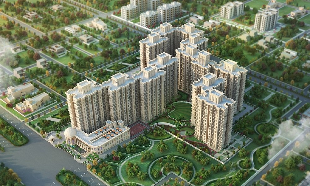 Signature Global The Serenas Sector 36 Sohna elevation view