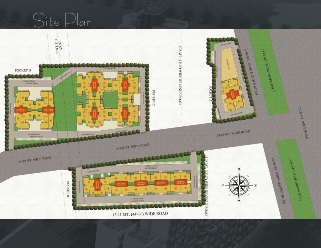 Maxworth Aashray Sector 89 Site Plan