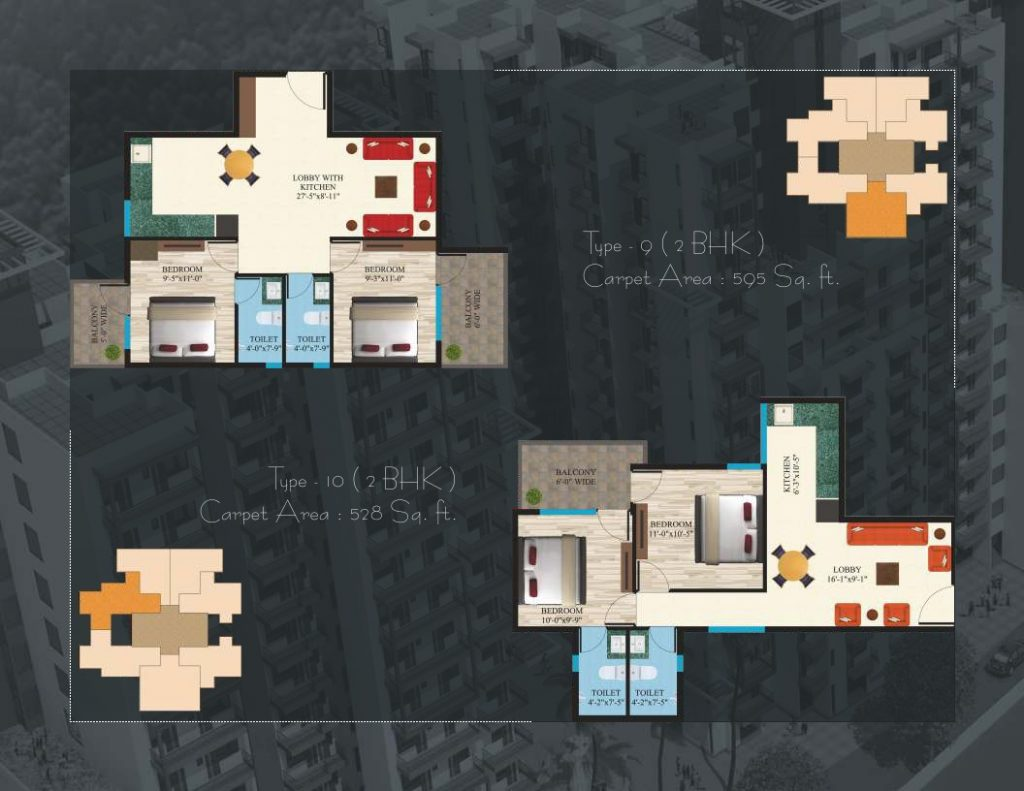 Maxworth Aashray Sector 89 Floor Plan