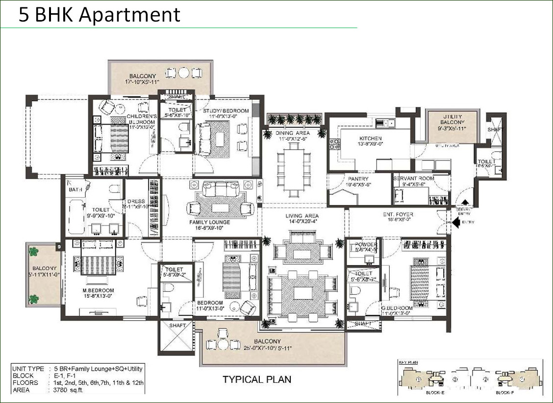 Indiabulls Enigma Sector 110 4 Bhk And 5 Bhk Apartments