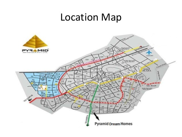 Pyramid dream homes sector 67a gurgaon affordable project for Dream home location
