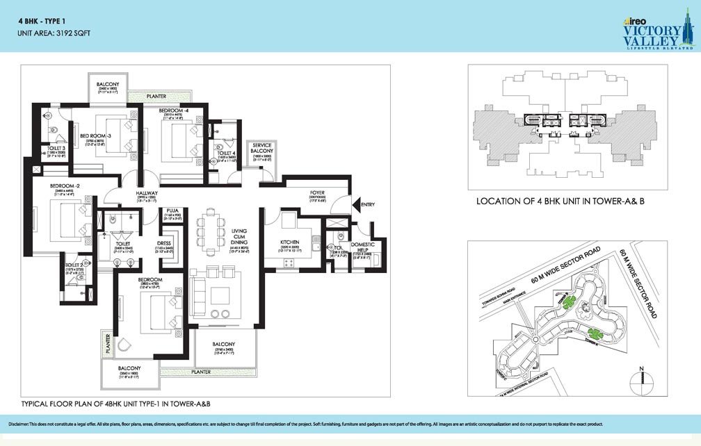 Ireo Victory Valley Floor plan