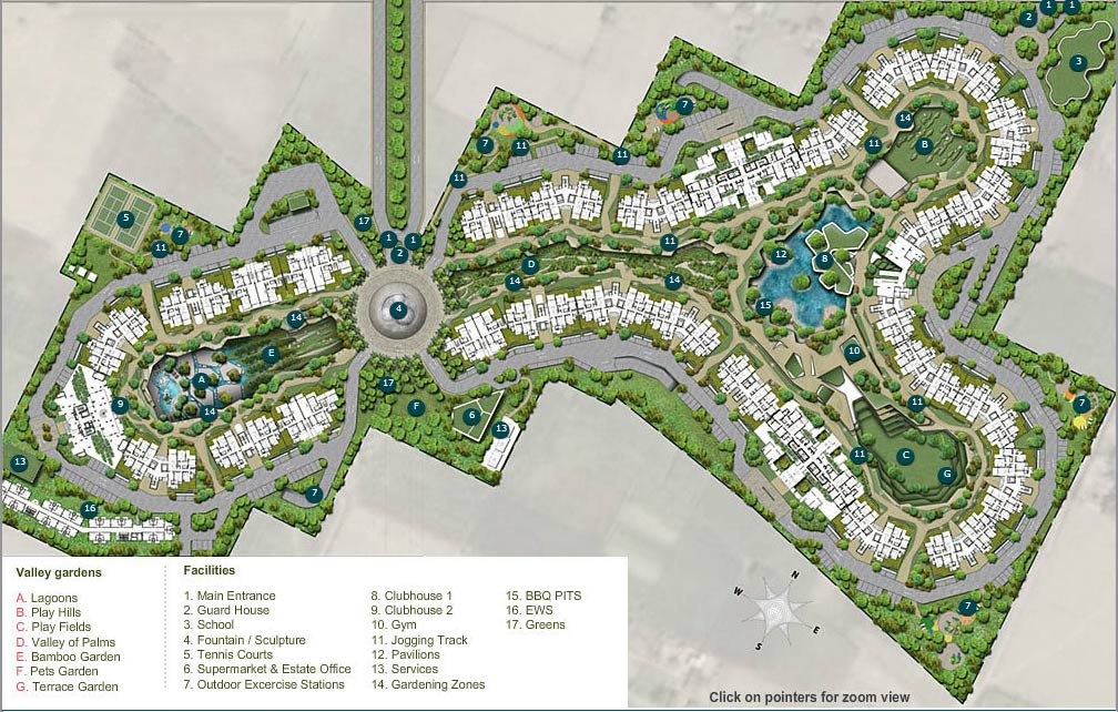 Ireo Victory Valley Site plan