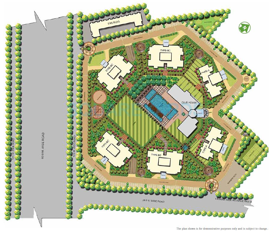 Site Map of ATS Kocoon Sector 109 Gurgaon