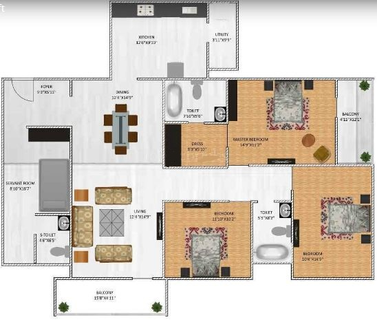 Lifestyle homes floor plan