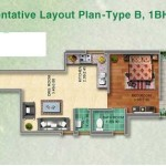 Pyramid Affordable Housing 1BHK TYPE-B