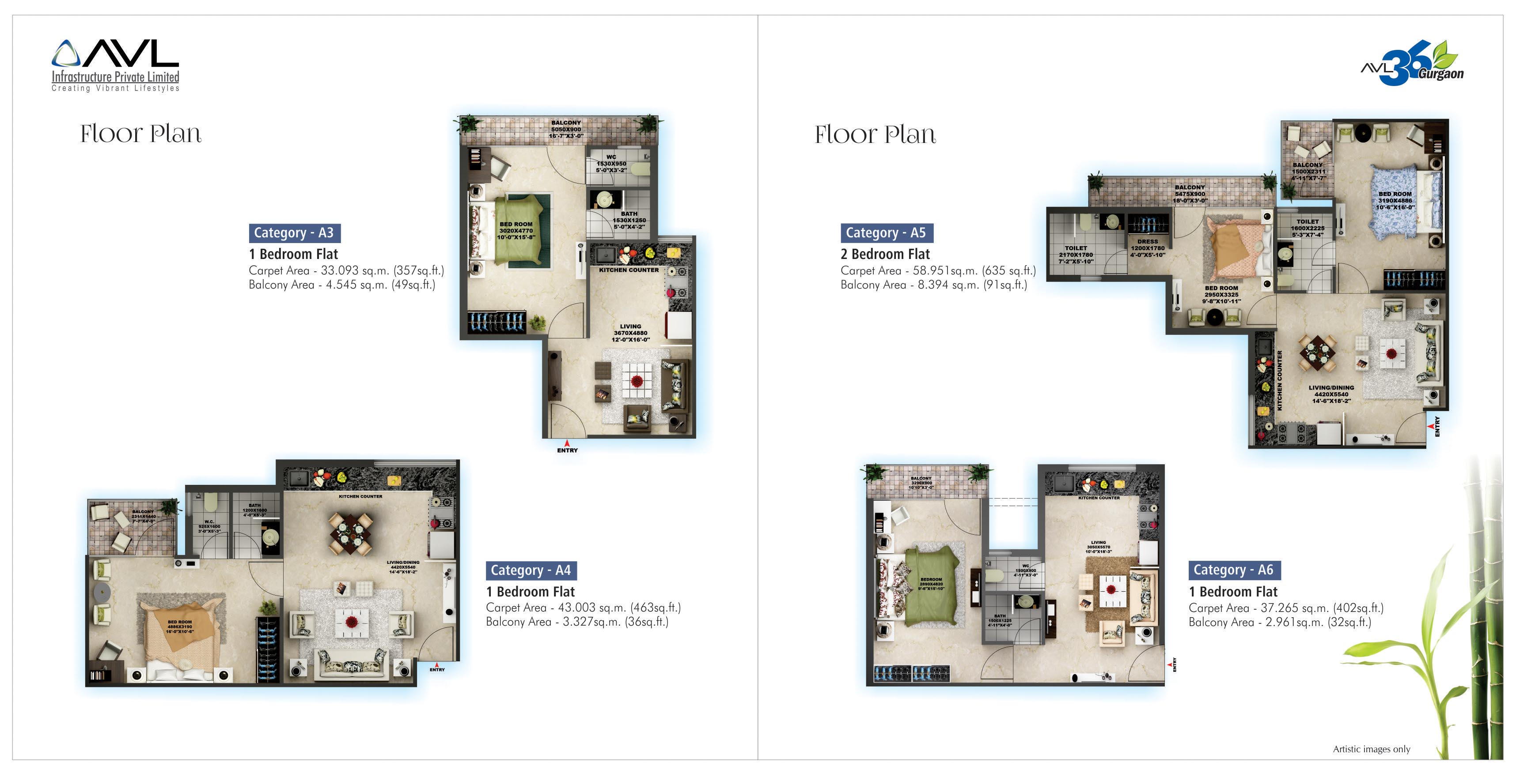 Avl36 sector 36a affordable housing project gurgaon floor plan for Affordable housing floor plans