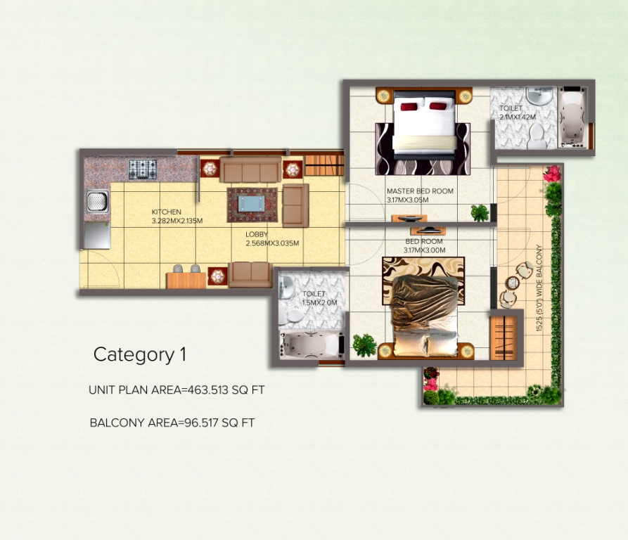 affordable housing Scheme in sector 95 gurgaon Category-1