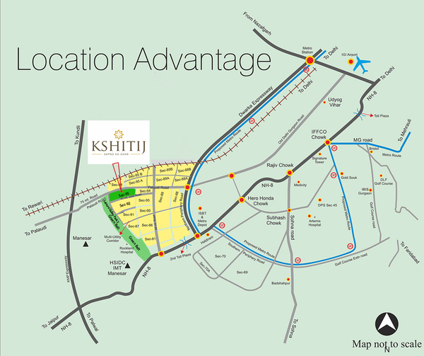 Ramson Affordable Location Map