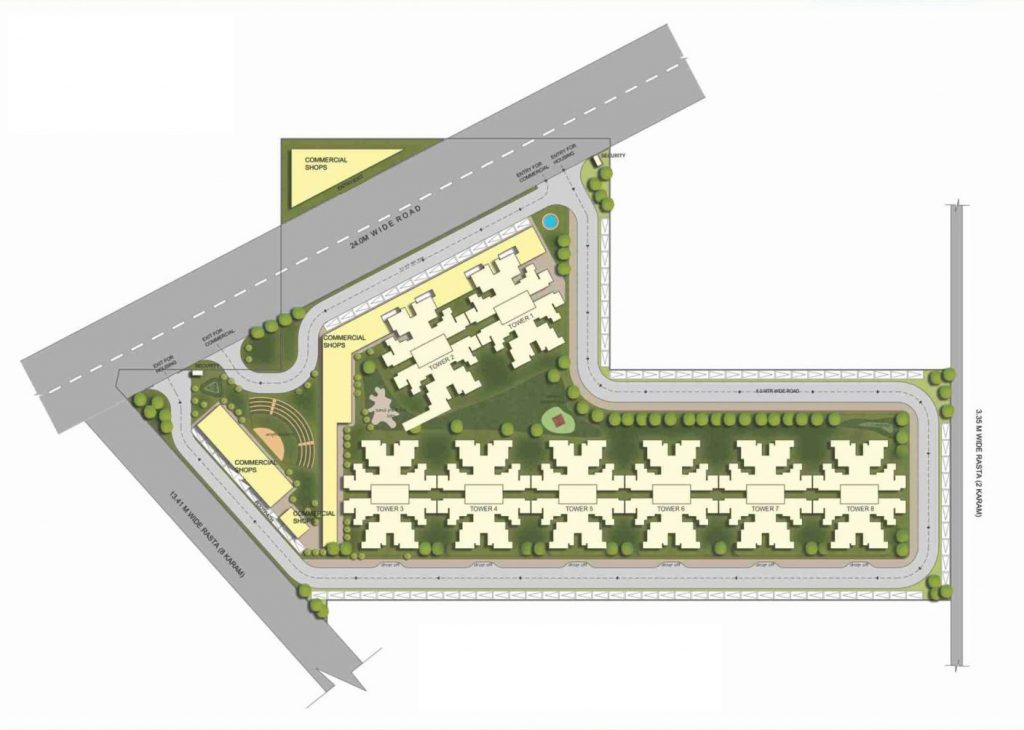 Affordable Housing Gurgaon Sector 84 Site Plan