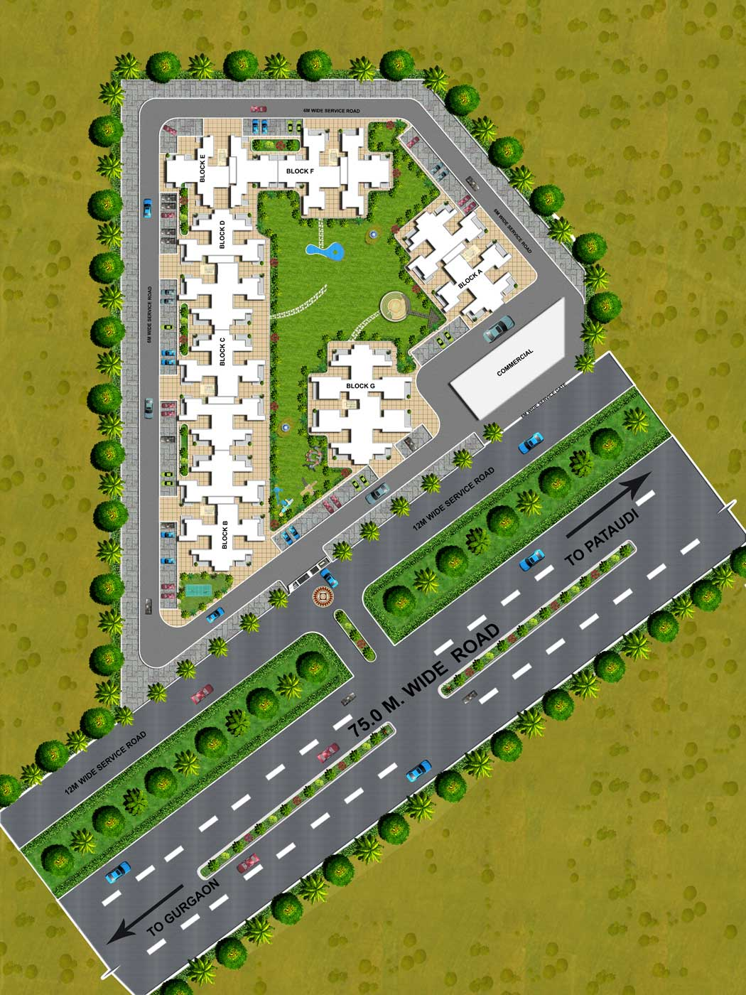 Ramson Affordable Housing Gurgaon Sector 95 Site Plan