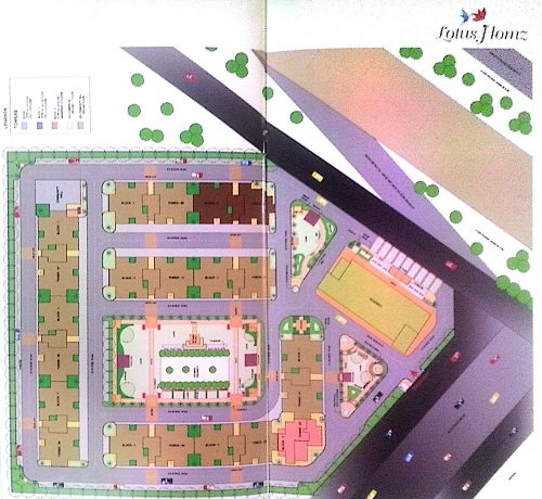 affordable housing project in sector 111 gurgaon Site Plan