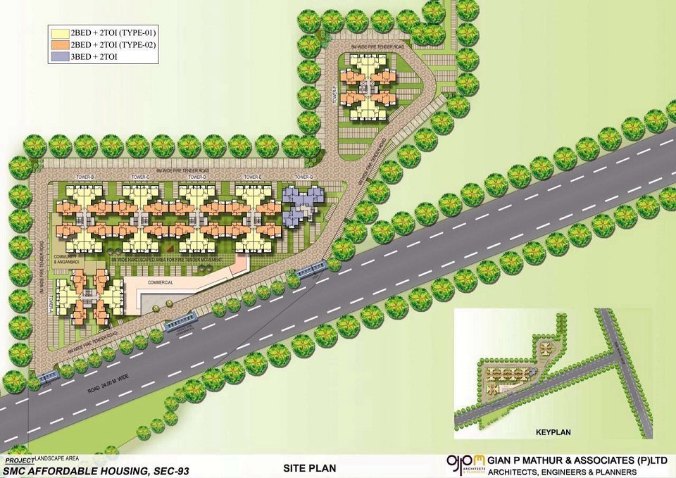 affordable housing project in sector 103 gurgaon site plan