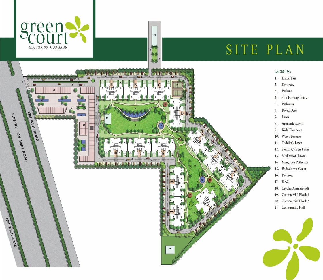 Shree Vardhman Affordable Housing Site Plan
