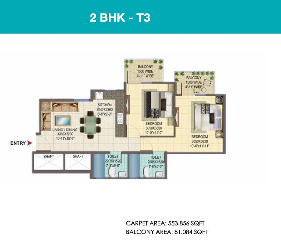 affordable housing scheme in sector 107 gurgaon 2 bhk