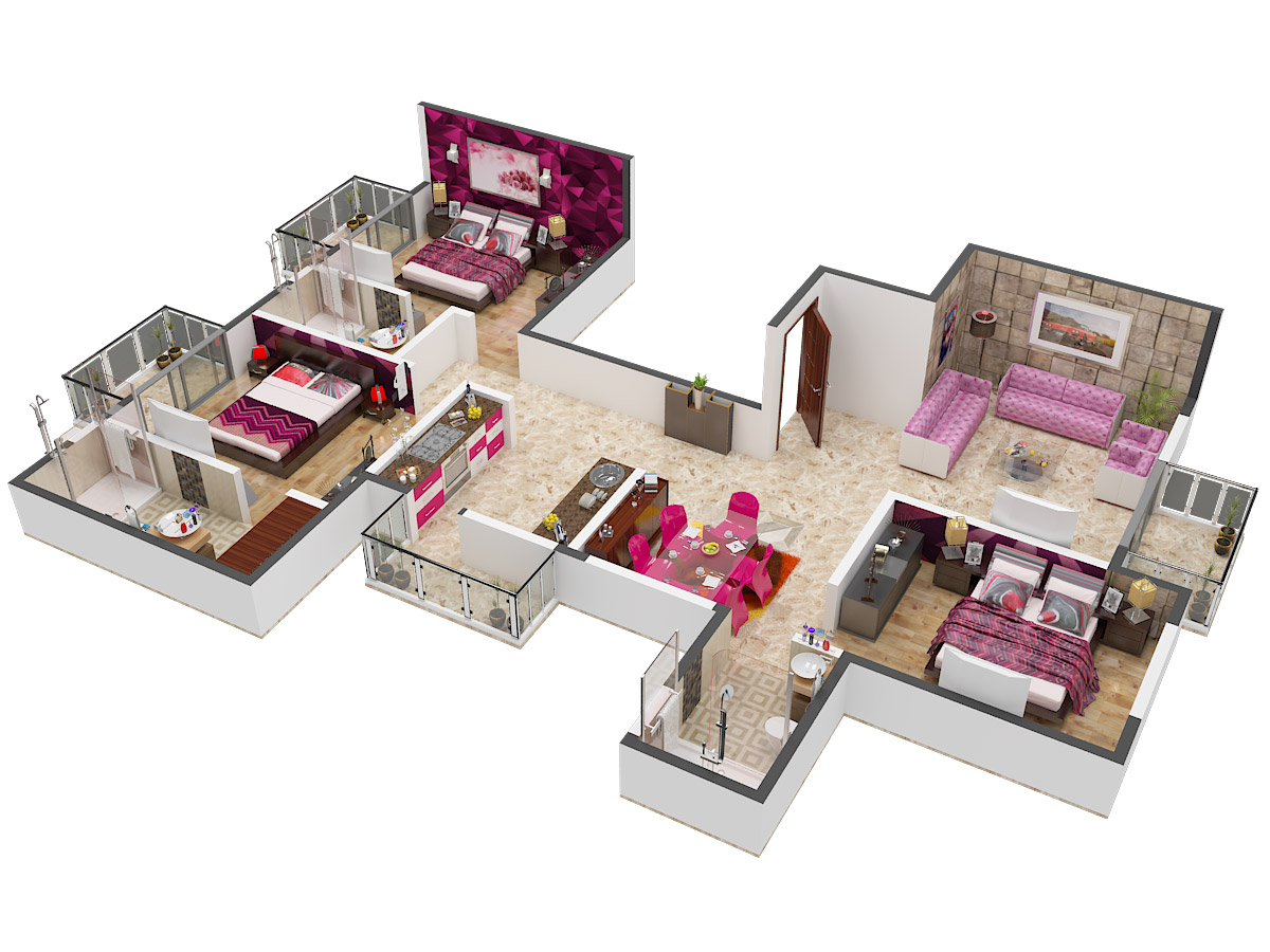 Vatika Xpression Floor plan