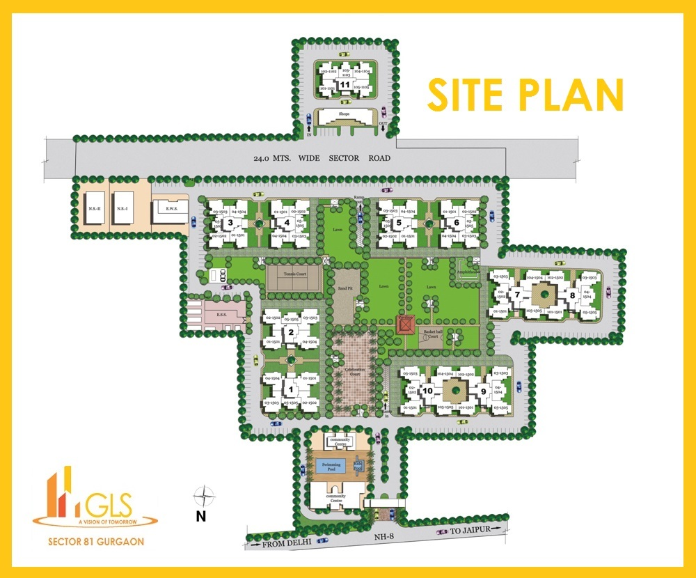 GLS Sector 81 Gurgaon Affordable Housing Project 8130886559