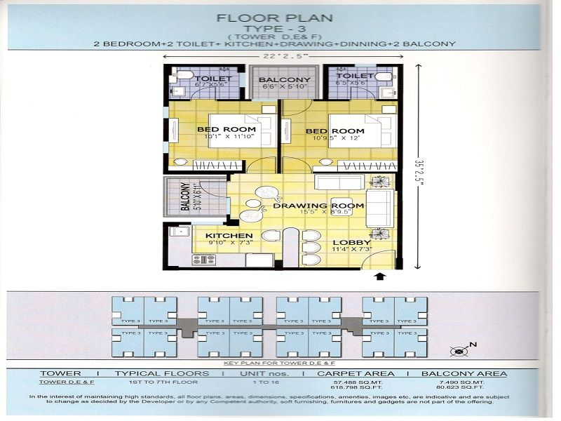 affordable housing project in sector 37c gurgaon floor 2 bhk