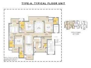 Floor Plan 4 BHK 2850