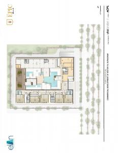 third floor plan elan epic sector gurgaon